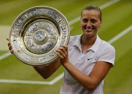 Kvitova at Wimbledon
